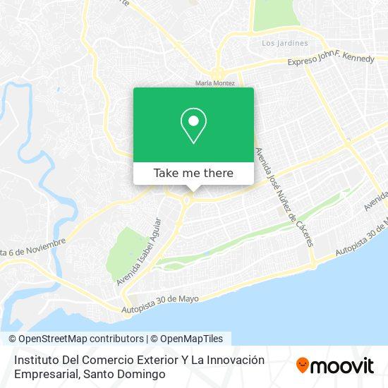 Instituto Del Comercio Exterior Y La Innovación Empresarial map