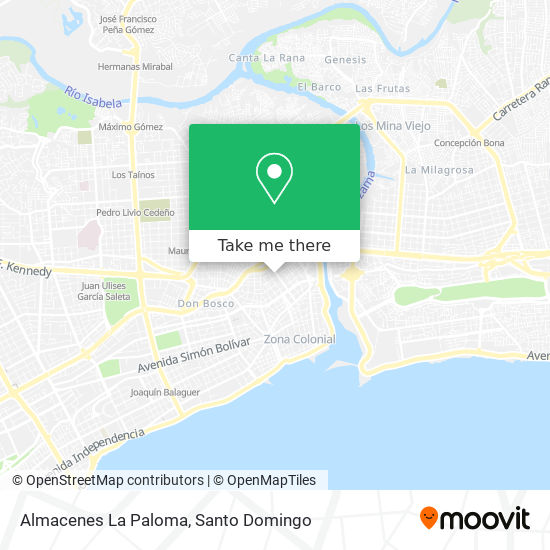 Almacenes La Paloma map