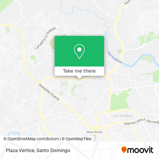 Plaza Vertice map