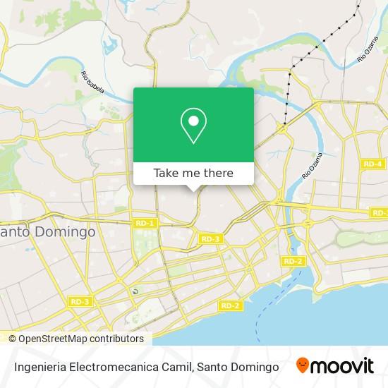 Ingenieria Electromecanica Camil map