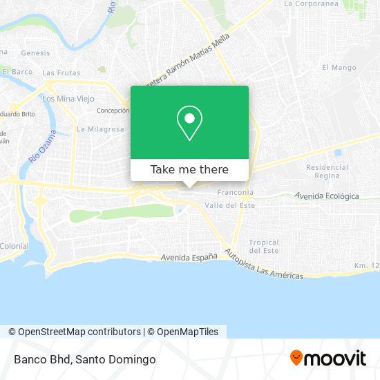 Banco Bhd map