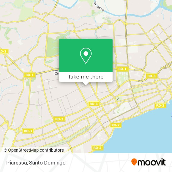 Piaressa map