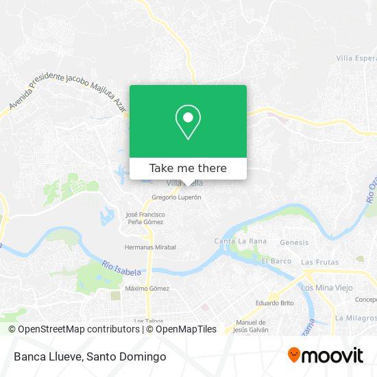 Banca Llueve map