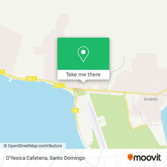 D'Yesica Cafeteria map