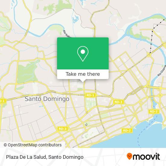 Plaza De La Salud map