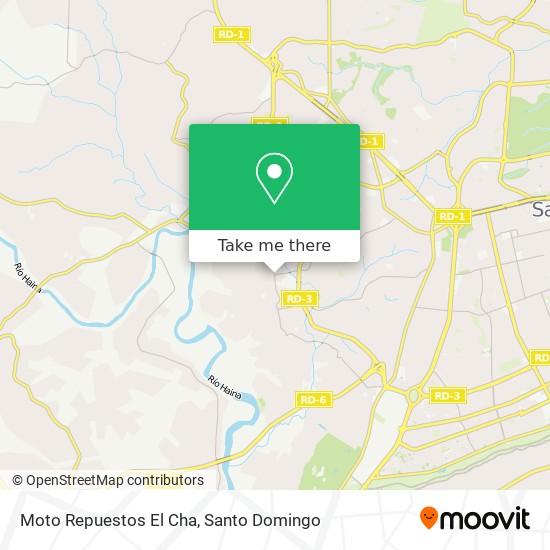 Moto Repuestos El Cha map