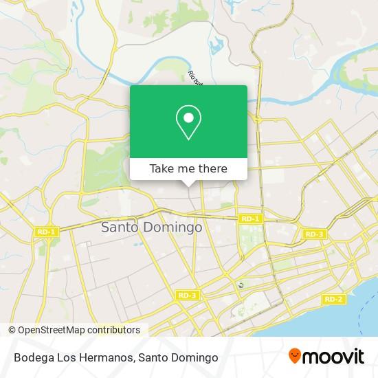 Bodega Los Hermanos map