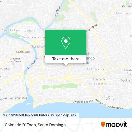 Colmado D' Todo map