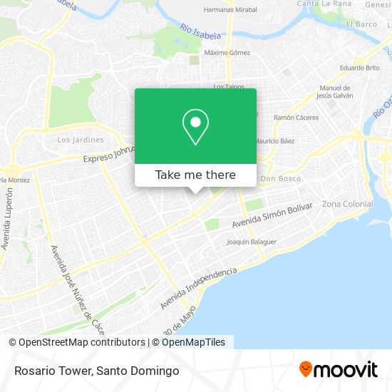 Rosario Tower map