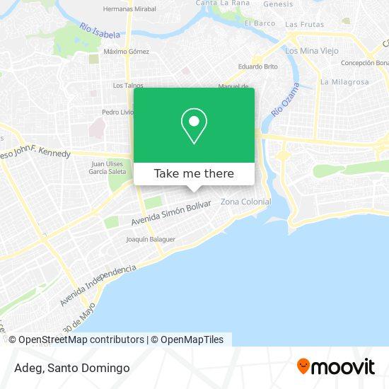 Adeg map