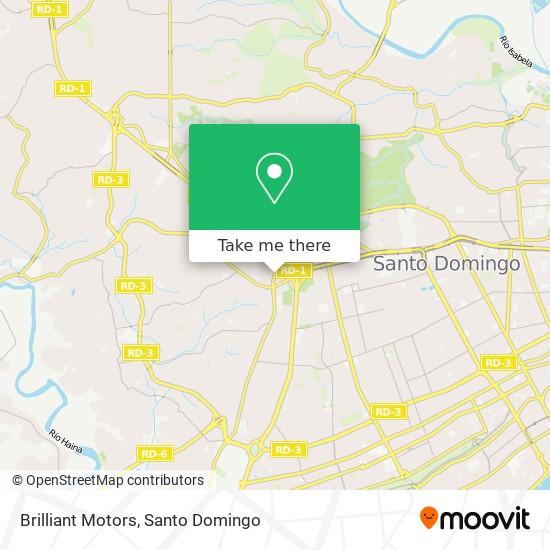 Brilliant Motors map