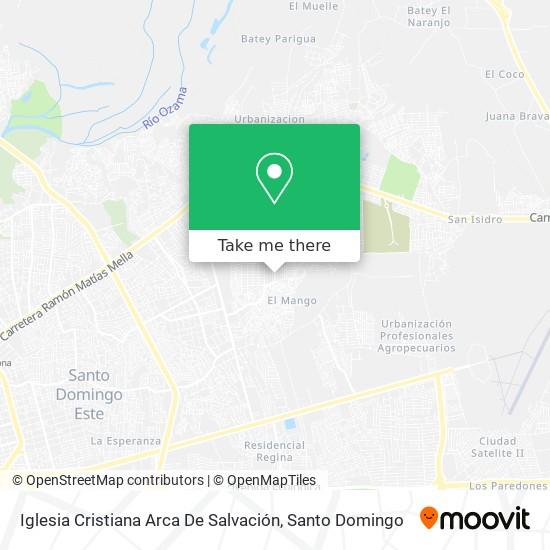 Iglesia Cristiana Arca De Salvación map
