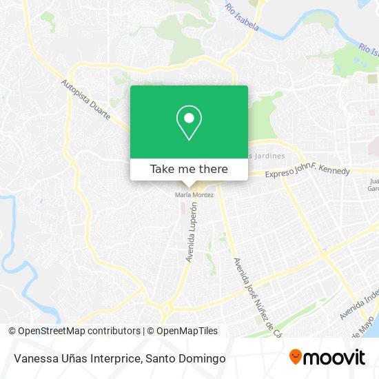 Vanessa Uñas Interprice map