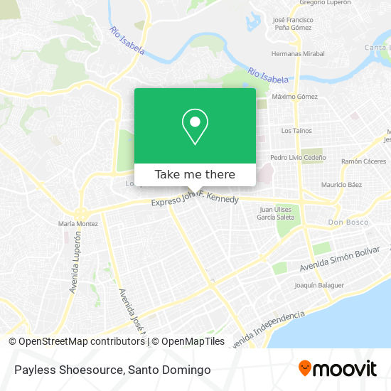 Payles Shoesource map