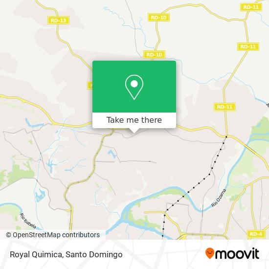 Royal Quimica map