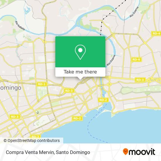 Compra Venta Mervin map