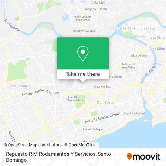 Repuesto R M Rodamientos Y Servicios map
