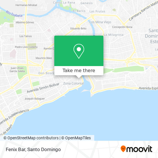 Denny's Bar map