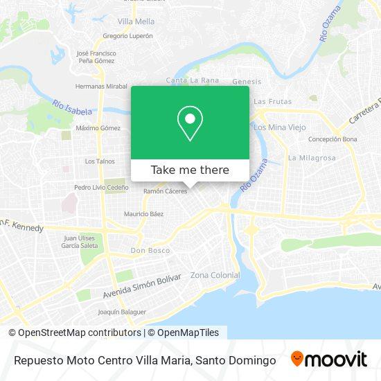 Repuesto Moto Centro Villa Maria map