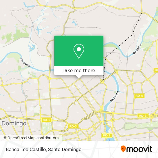 Banca Leo Castillo map