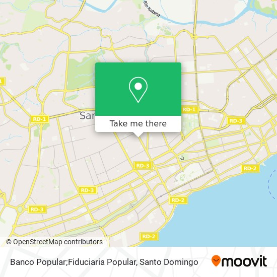 Banco Popular;Fiduciaria Popular map