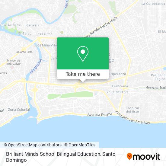 Brilliant Minds School Bilingual Education map