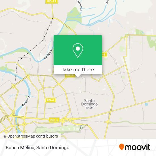 Banca Melina map