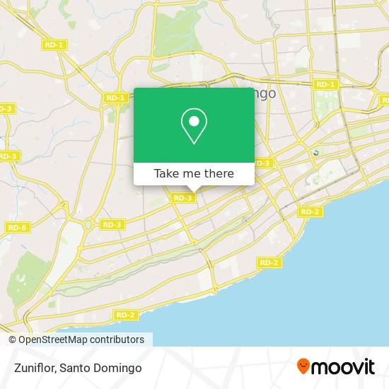 Zuniflor map