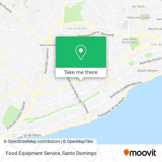 Food Equipment Service map