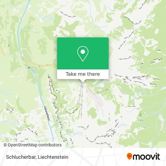 Schlucherbar map