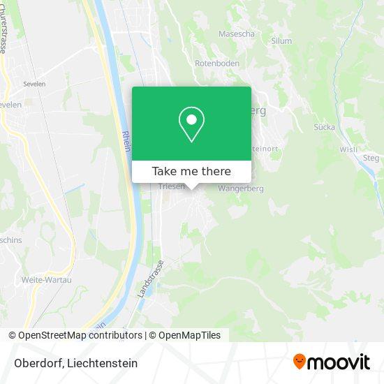 Oberdorf map
