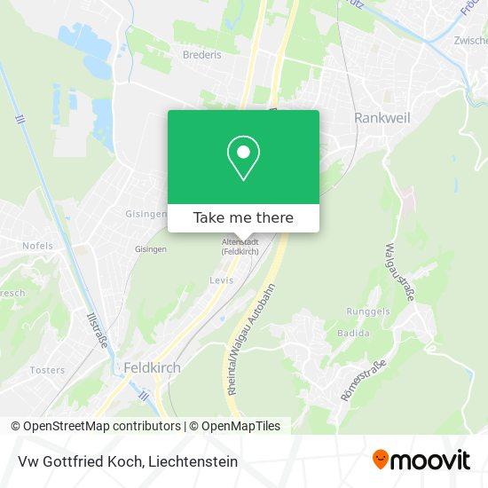 Vw Gottfried Koch map