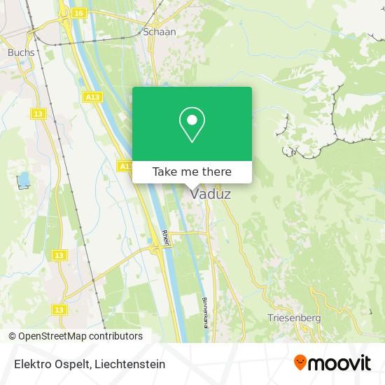 Elektro Ospelt map