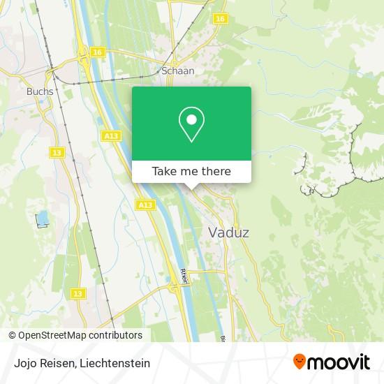Jojo Reisen map