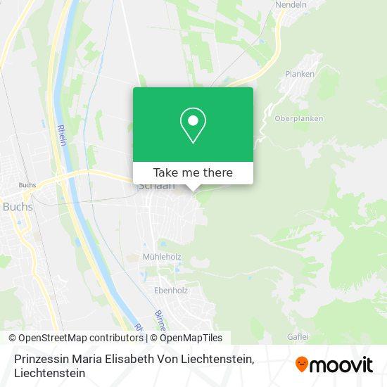Prinzessin Maria Elisabeth Von Liechtenstein map