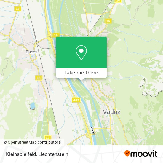 Kleinspielfeld map