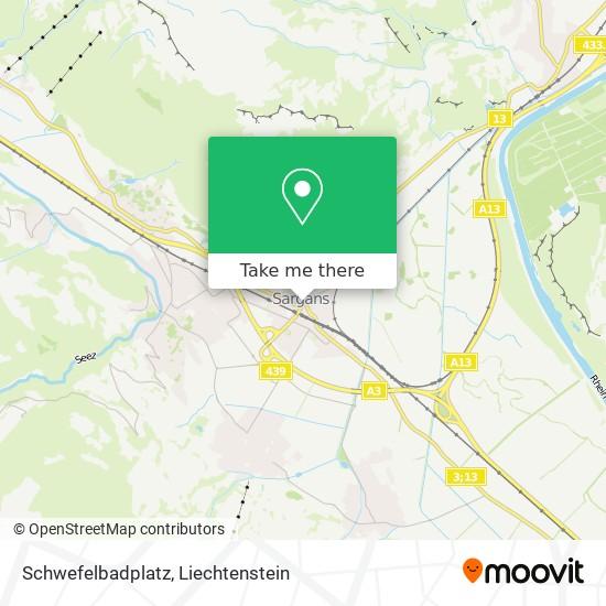 Schwefelbadplatz map