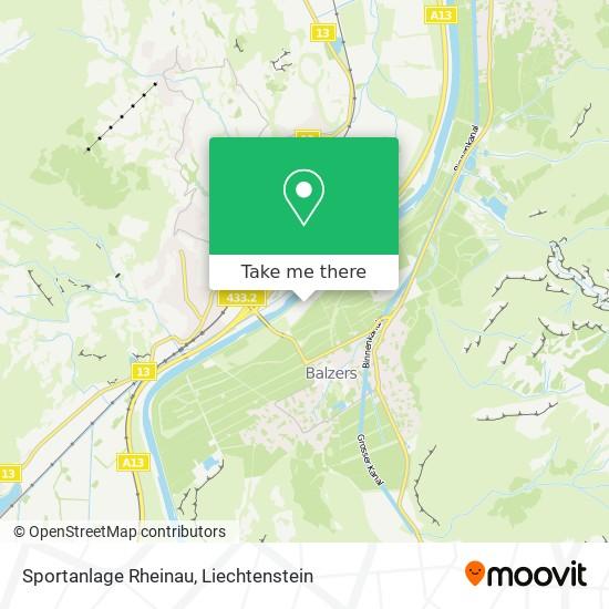 Sportanlage Rheinau map