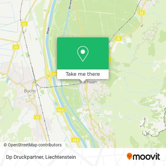 Dp Druckpartner map