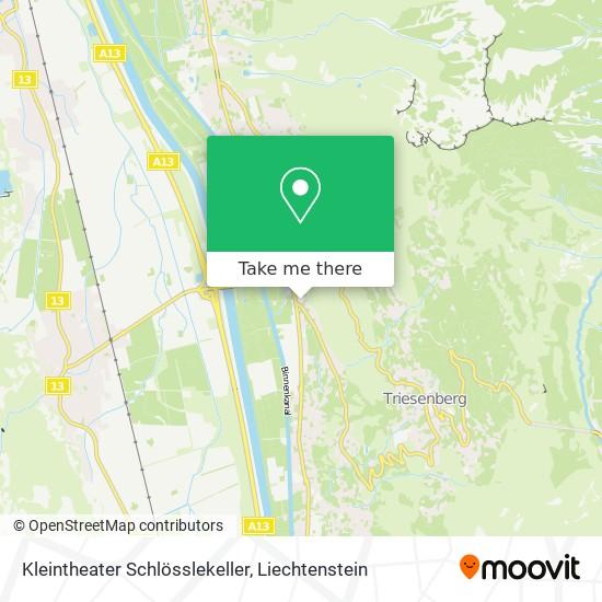 Kleintheater Schlösslekeller map