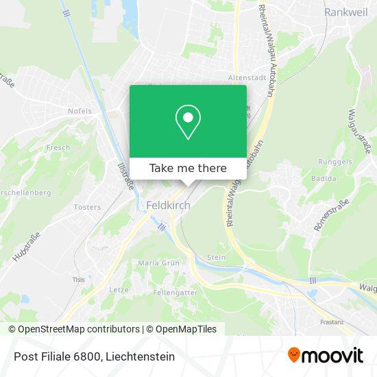 6800 Feldkirch map