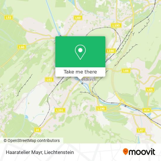Haaratelier Mayr map
