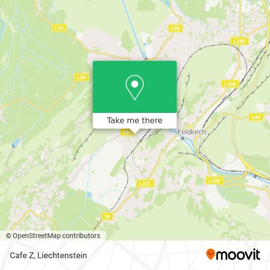 Cafe Z map
