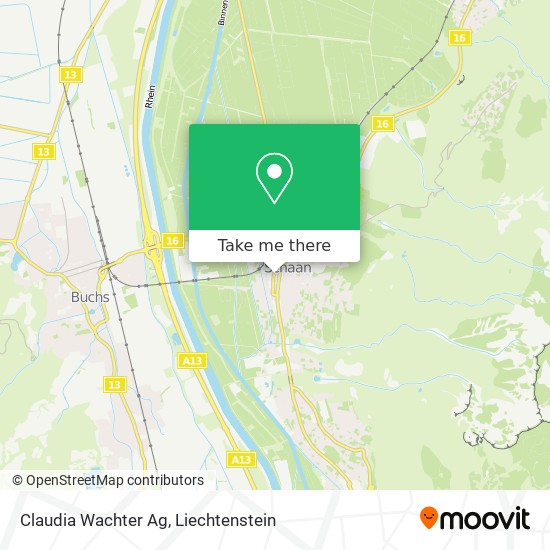 Claudia Wachter Ag map