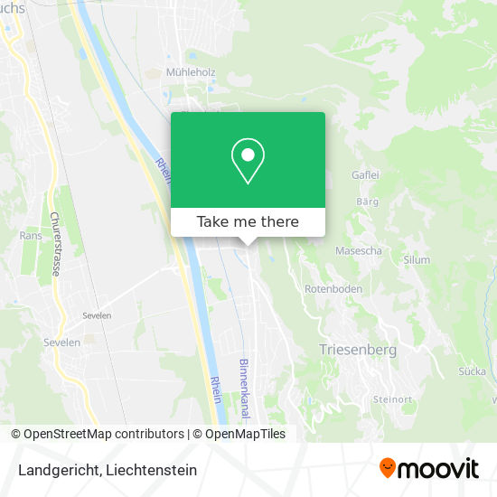 Landgericht map