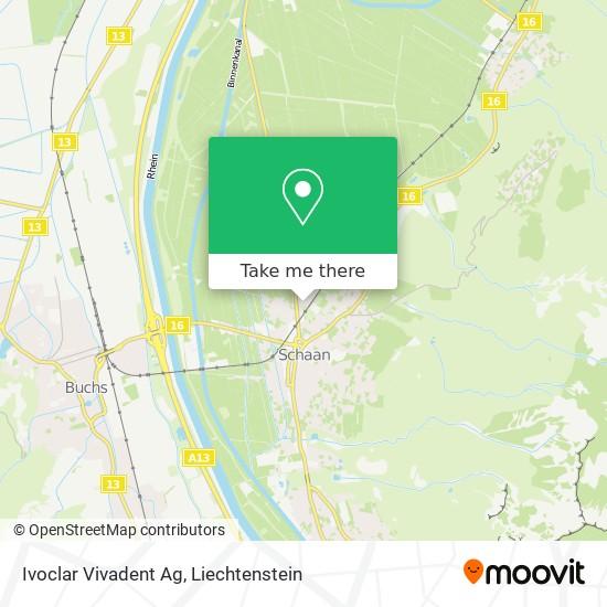 Ivoclar Vivadent Ag map