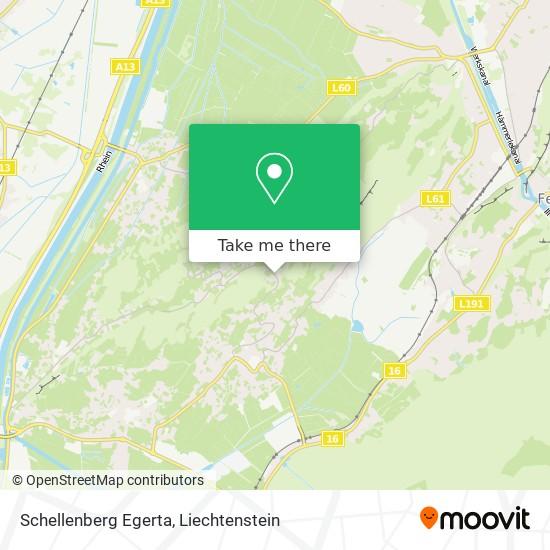 Schellenberg Egerta map