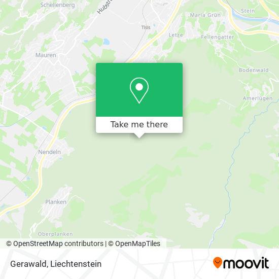 Gerawald map