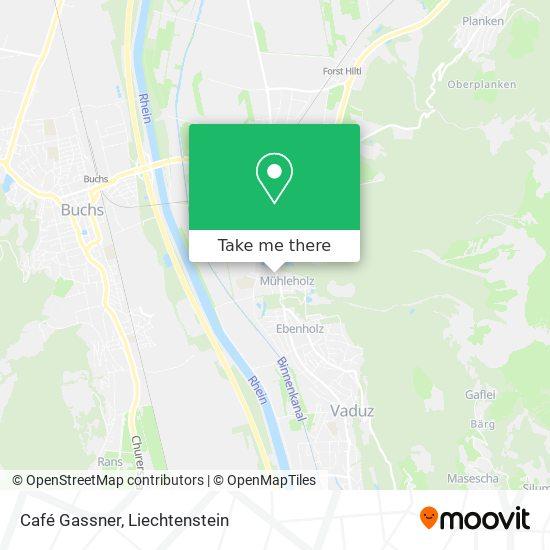 Café Gassner map