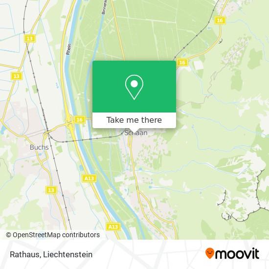 Rathaus map
